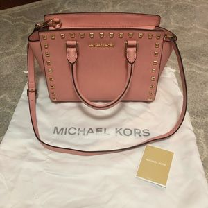 Michael Kors Selma Stud Medium Satchel